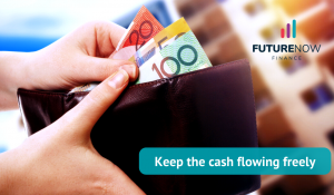 Keep the cash flowing freely